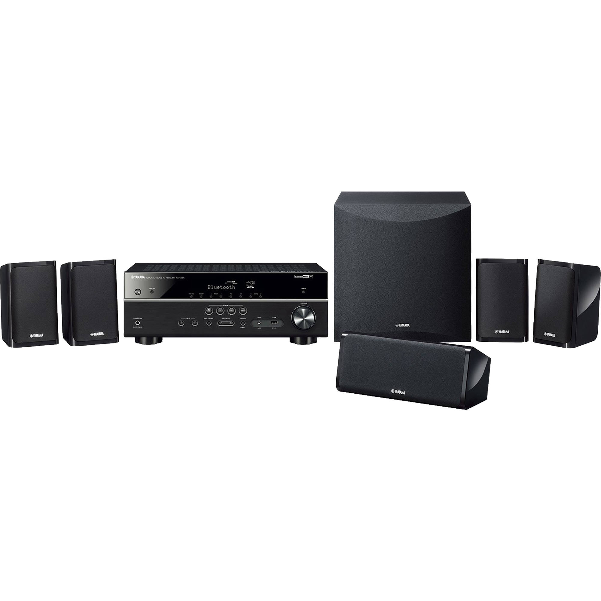 Yamaha YHT-5950U 5 1-Channel MusicCast Home Theater System