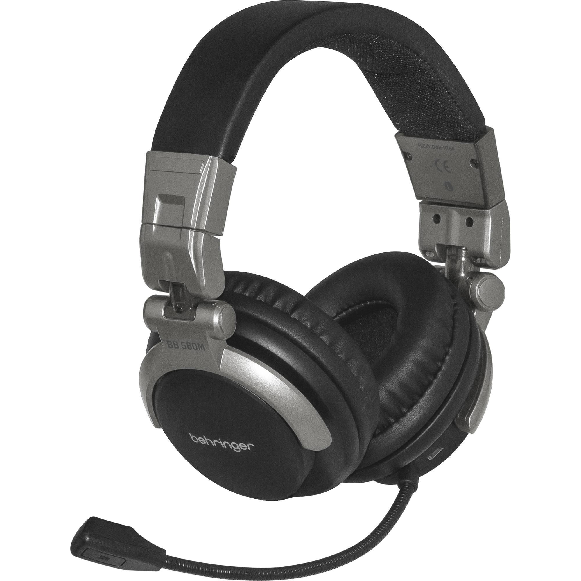 Behringer Bb 560m Bluetooth Headphones With Flexible Boom Bb560m