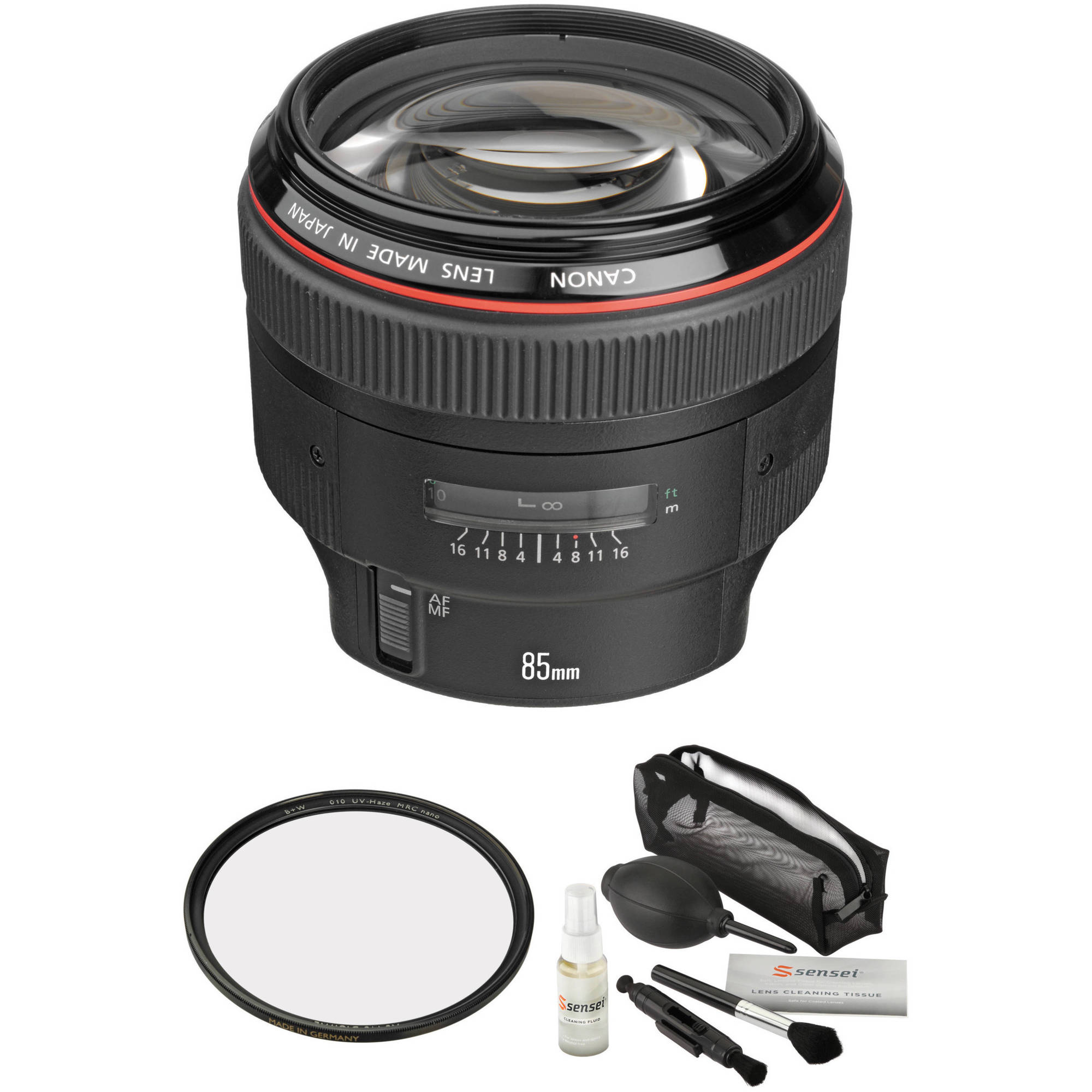 Ultraviolet UV Multi-Coated HD Glass Protection Filter for Canon EF 28-135mm f//3.5-5.6 IS USM Lens