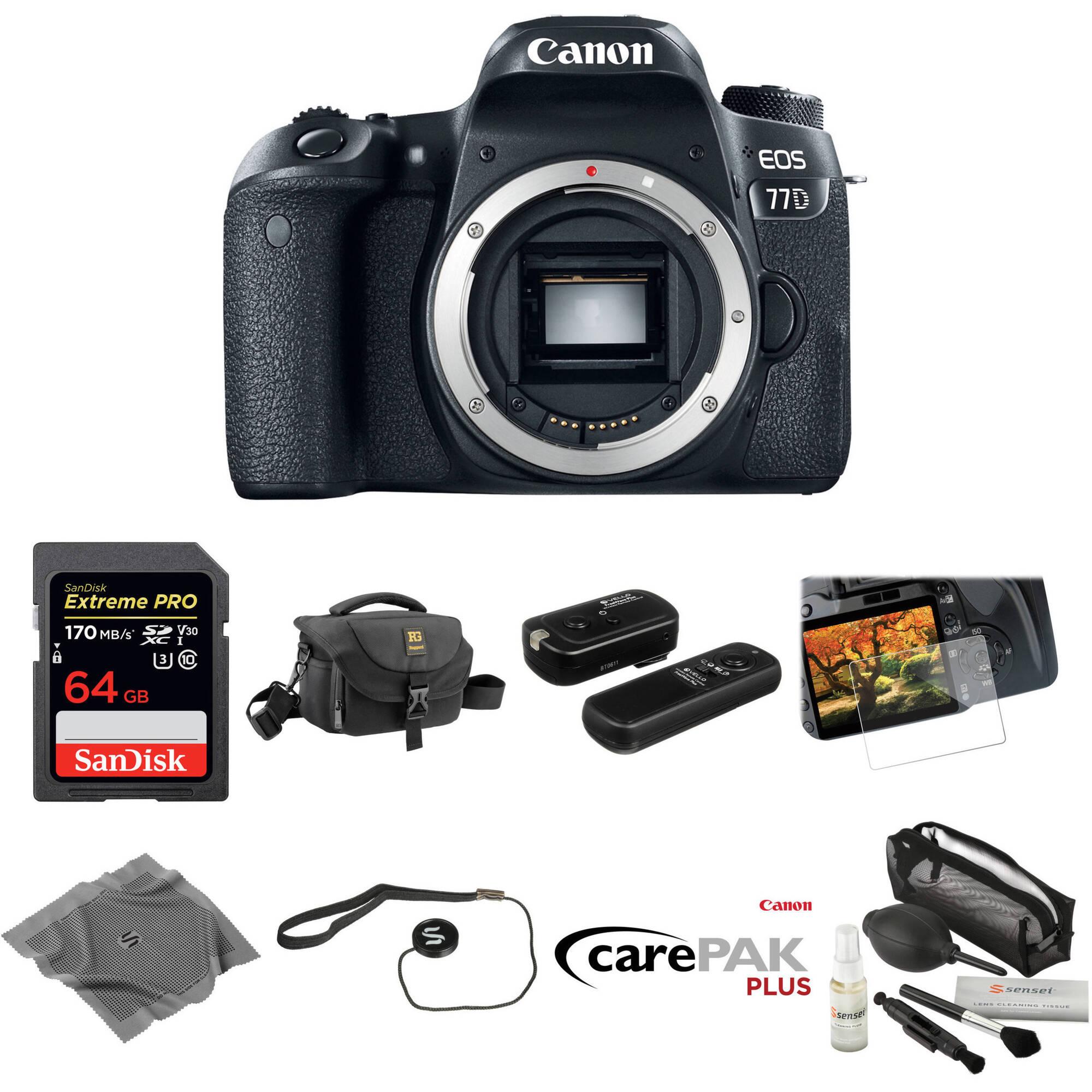 Movo Photo Lens Mount Cap /& Body Cap for Canon EOS DSLR Camera 2 Pack