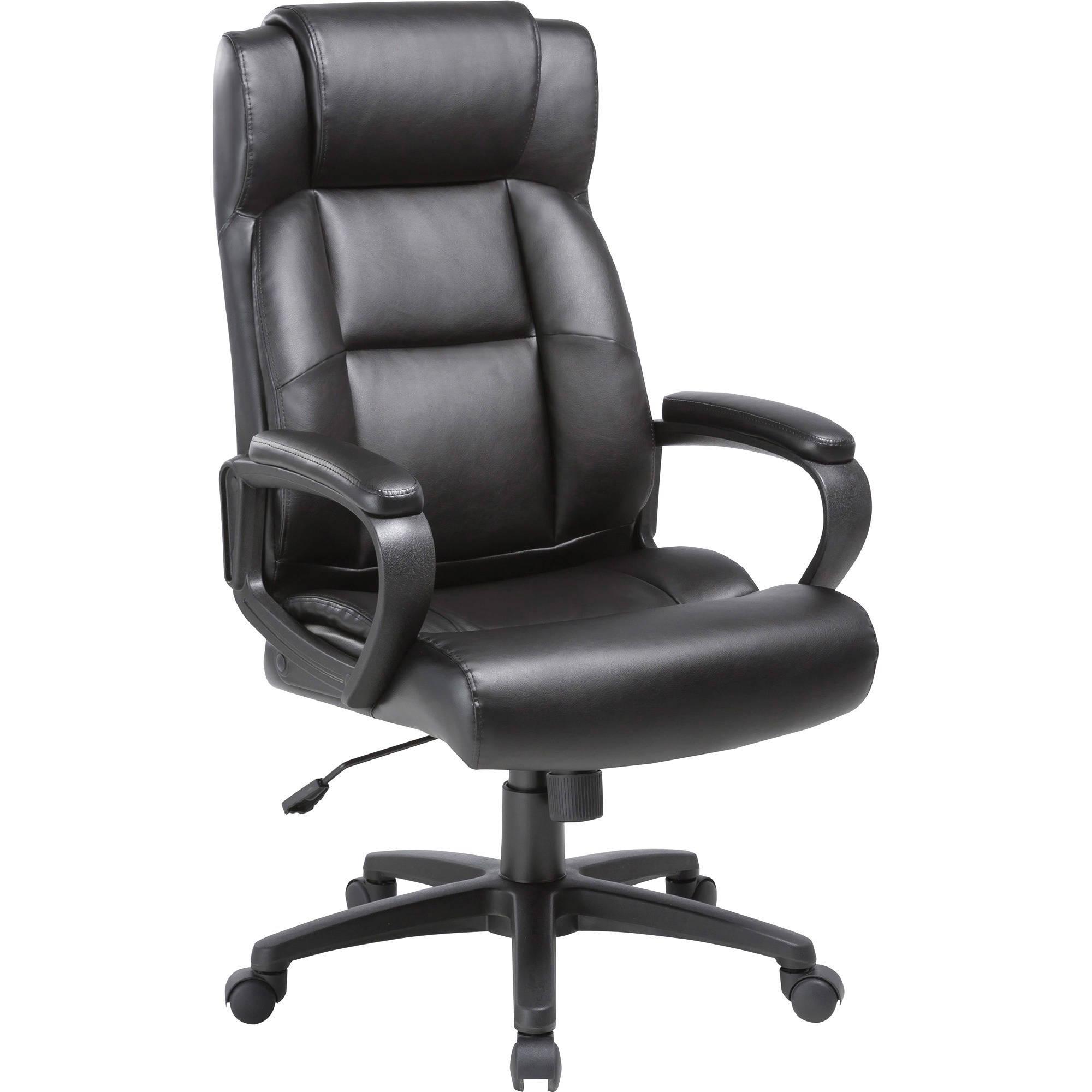 Lorell Soho High Back Leather Executive Chair Llr41844 B H Photo