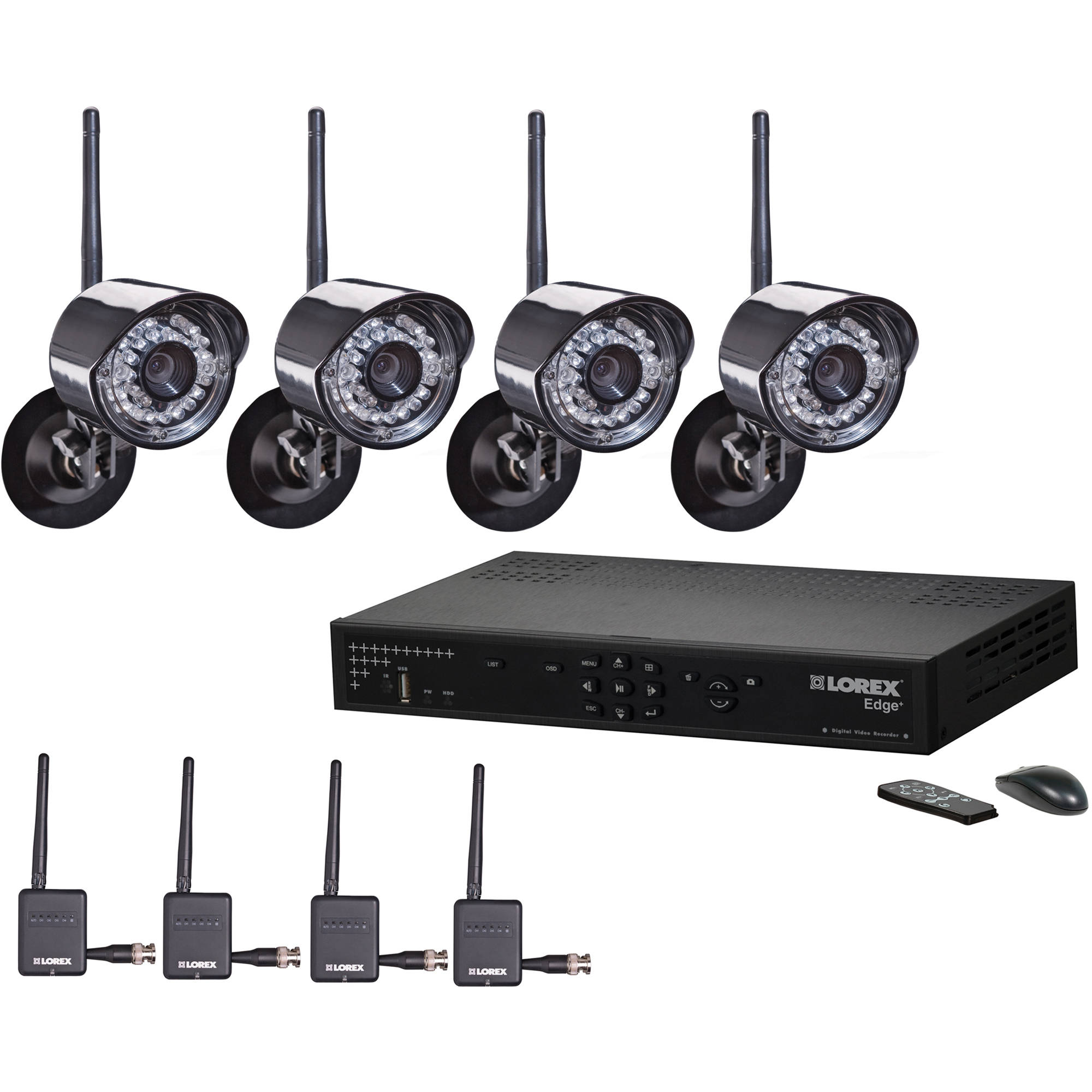 Lorex 8 Channel Edge + Wireless Security Camera LH328501C4W B&H: www.bhphotovideo.com/c/product/711628-REG/Lorex_LH328501C4W_8...