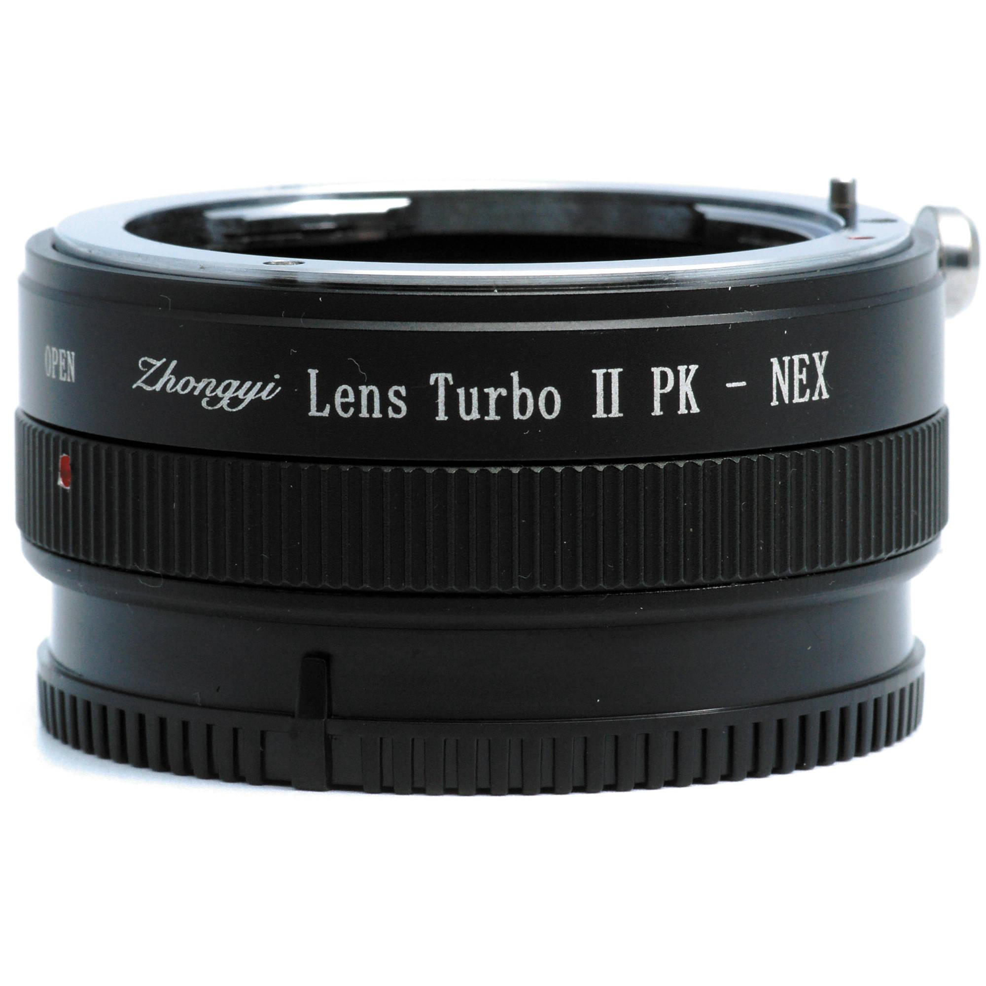 Mitakon Zhongyi Pentax K Lens To Sony E Mount Camera