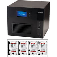 LenovoEMC Iomega IX4-300D Network Storage Device & Four 2TB HDD Kit