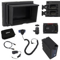 VariZoom VZM5 Monitor Deluxe Kit with Sunhood/Screen Protector