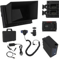 VariZoom VZM7 Monitor Deluxe Kit with Sunhood/Screen Protector