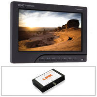 "Elvid FieldVision 7"" Monitor, LP-E6 Power, and SDI to HDMI 60Hz Converter Kit"