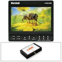 "Marshall Electronics 5"" On-Camera Monitor Kit with SDI to HDMI Converter"