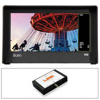 "ikan VH8 8"" HDMI Monitor, G6 DV Type Battery Plate/ SDI Converter Kit"