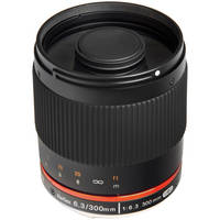 Bower 300mm f/6.3 Mirror Lens for Micro Four Thirds Mount