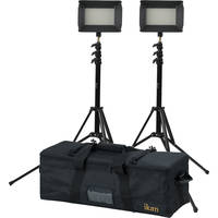 ikan 2-Point Bi-Color Light Kit with Stands & Bag