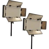 Bescor LED-700K Bi-Color 2-Light AC Kit