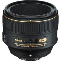 Nikon AF-S NIKKOR 58mm f/1.4G Lens