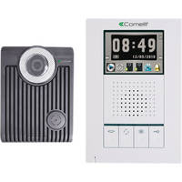 Comelit Hands-Free Expandable Color Video Intercom System with Audio/Video Memory Recording