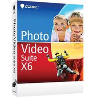 Corel Photo Video Suite X6 (Educational Edition, DVD)