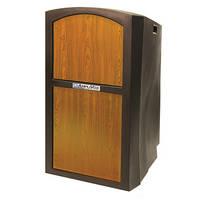 AmpliVox Sound Systems Pinnacle Multimedia Lectern (Non-Sound, Medium Oak Veneer)