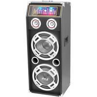 Pyle Pro PSUFM1030P Disco Jam 1,000W 2-Way Speaker System with DJ Lights
