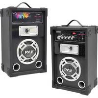 Pyle Pro PYPSUFM625 Disco Jam Dual 600W 2-Way Speaker System