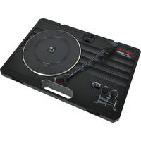 Vestax handy trax Portable USB Turntable (Black)
