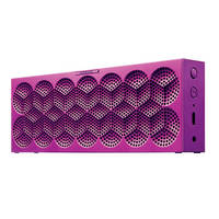 Jawbone MINI JAMBOX Speaker (Purple Snowflake)