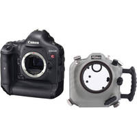 AquaTech Delphin 1D Underwater Sport Housing with Canon EOS-1D C HDSLR Camera Body Kit