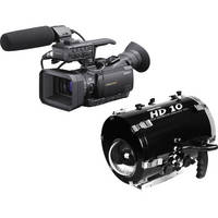 Equinox HD10 Underwater Housing with Sony HXR-NX70U NXCAM Compact Camcorder Kit