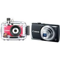 Ikelite Underwater Housing with Canon PowerShot A2500 Digital Camera Kit