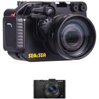Sea & Sea MDX-RX100II Underwater Housing with Sony Cyber-shot DSC-RX100 II Digital Camera Kit
