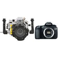 Nimar 3D Transparent Underwater Housing with Canon EOS 60D DSLR Camera Body Kit