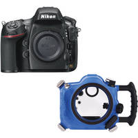 AquaTech Elite 800 Underwater Sport Housing with Nikon D800 DSLR Camera Body Kit