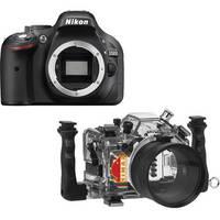 Nimar Underwater Housing and Nikon D5200 DSLR Camera Body Kit with Lens Port for AF-S Nikkor 18-55mm