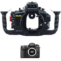 Sea & Sea MDX-D7100 Underwater Housing with Nikon D7100 DSLR Camera Body Kit