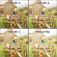 """LEE Filters 3x3"""" Neutral Density (ND) 0.3 Polyester Filter"""