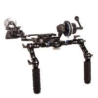 ikan TT-03-TL DSLR Shoulder Rig with Follow Focus & Counterweight