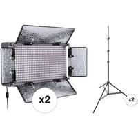Genaray SpectroLED Studio 500 Daylight LED Two Light Kit
