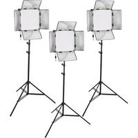 Genaray SpectroLED Studio 1000 Daylight LED Three Light Kit