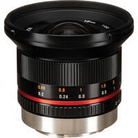 Rokinon 12mm f/2.0 NCS CS Lens for Fujifilm X Mount (Black)