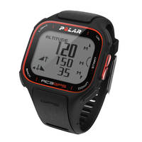 Polar RC3 GPS Fitness Watch with Heart Rate Monitor (Black)