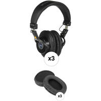 Senal SMH-1000 Professional Field and Studio Monitor Headphones (3-Pack)