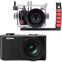 Ikelite Underwater Housing with Sigma DP3 Merrill Compact Digital Camera Kit