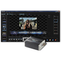 Datavideo CG-300TC Kit with CG-300 Character Generator Software and TC-200 Overlay Box Character Generator Kit