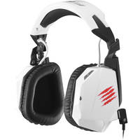 Mad Catz F.R.E.Q. 3 Stereo Gaming Headset for PC/Mac/Smart Devices (White)