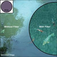 B+W 49mm Linear Polarizer Filter