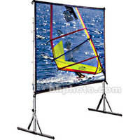 Draper 218042 Cinefold Portable Projection Screen with Standard Legs (8 x 8')