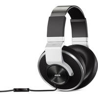 AKG K551SLV Closed-Back Reference-Class Headset with In-Line Microphone (Black/Silver) - Recertified