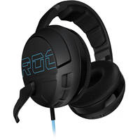 Roccat Kave XTD Stereo In-Ear 3.5mm Wired Gaming Headphones (Black) + ROCCAT Gift T-shirt