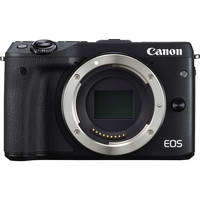 Canon EOS M3 24.2 MP 1080p Mirrorless Digital Camera (Body) with Electronic Viewfinder