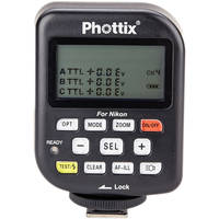 Phottix PH89058 Odin TTL Flash Trigger Transmitter for Nikon (Black)
