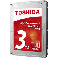 Toshiba P300 3TB Internal Hard Drive + Rosewill SATA Cable