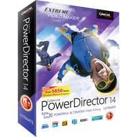 CyberLink PowerDirector 14 Ultimate Software